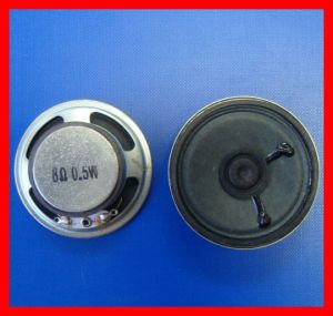 40mm, 50mm, 57mm, 66mm, 78mm, 102mm 0.2W, 0.5W Small Speaker, Mini Speaker pictures & photos