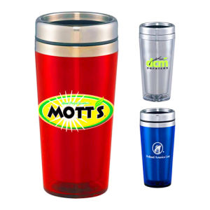 Double Walls Construction Advertising Travel Mug pictures & photos