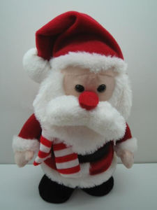 Christmas Gift Plush Doll Toy Santa Claus Stuffed Toy pictures & photos