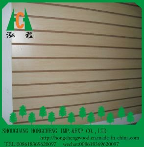 Best Price 1220 X 2440 X 18mm Slot MDF/ Slatwall Panel Board pictures & photos