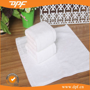 100% Cotton White Towels Terry Wash Cloth Face Towels pictures & photos