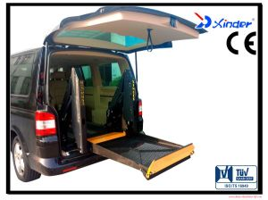 Wheelchair Lifting Platforms for Vans with CE Certificate with Loading 350kg (WL-D-880-1150) pictures & photos