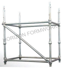 Galvanized Cup Lock System Scaffolding