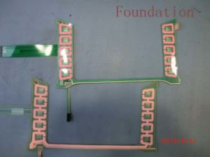 Tactile FPC Flexible Circuit EL Panel Control Membrane Switch pictures & photos