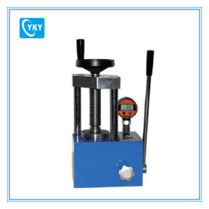 12t Manually Powder Hydraulic Press with Pointer Pressure Gauge pictures & photos