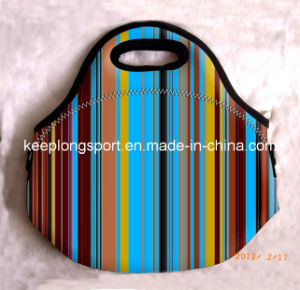 Full Color Neoprne Picnic Lunch Bag, Cooler Bag