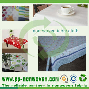 Spunbond Nonwoven Printed Table Cover pictures & photos