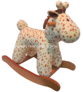 Factory Supply Rocking Animal-Stuffed Deer Rocker pictures & photos