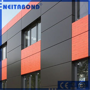 Vivid Colors Feve Aluminum Composite Panel for Markedness Building pictures & photos