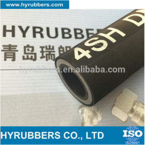 Manufacture Production Hose High Pressure Tempure Hydraulic Rubber Hose pictures & photos