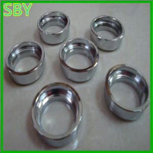 CNC Machining Ring with Screw Thread Competitive Price (P036)