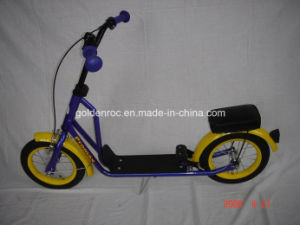"12"" Steel Frame Kick Scooter (PB207) pictures & photos"