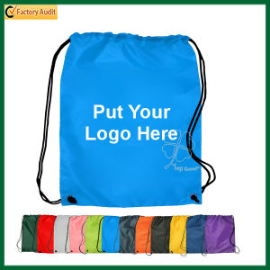 Promotion Durable Polyester Drawstring Backpack Bags (TP-dB206) pictures & photos