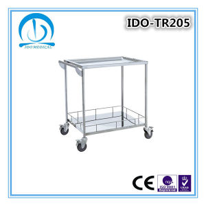 304 Grade Stainless Steel Shelf Trolleys pictures & photos