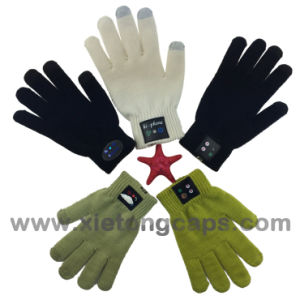 Hot Sale Bluetooth Touchscreen Glove, for iPhone Glove pictures & photos