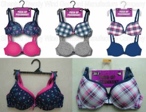 2pk Combo Printed Push up Bra pictures & photos
