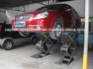 in Floor Scissor Car Lifter 3t pictures & photos
