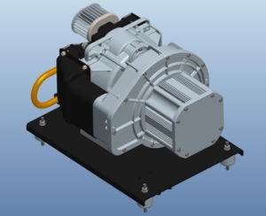No Vibration Oil Free Scroll Air Compressor for Electric Bus