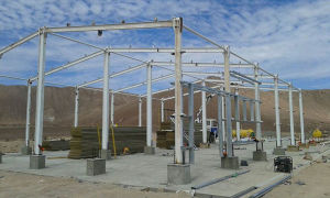 Professional Light Movable Steel Structure for Warehouse (SL-0062) pictures & photos