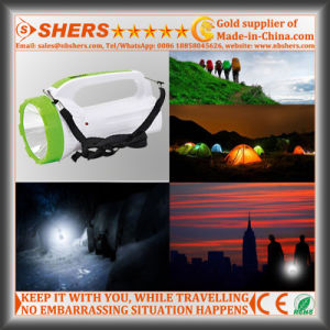 Rechargeable 1W LED Flashlight with COB LED Desk Light (SH-1982) pictures & photos