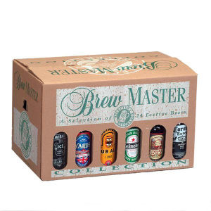 Paper Beer Packing Box with Display Window pictures & photos