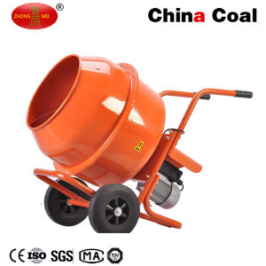 Mobile Electrical Wheelbarrow-Style Mini Cement Mixer with 120L Polydrum and Solid Frame pictures & photos