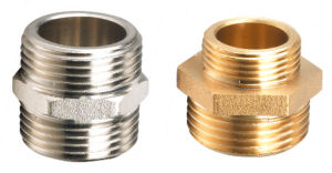 Brass Fitting Straight Pipe Connector (328001) pictures & photos