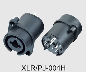 XLR Combo Jack Connect with 6.35 Microphone Plugs (XLR/PJ-004H) pictures & photos