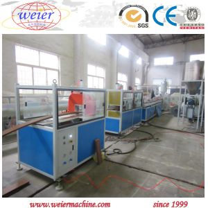High Quality Ecological WPC PVC Composite Wood Plastic Profile Production Making Machine pictures & photos
