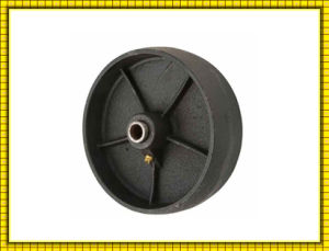 OEM Machined Cast Iron Wheel pictures & photos