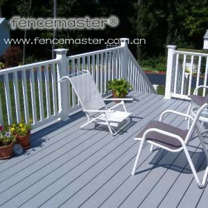 Vinyl Fence for Stair/ Plastic Stair Railing pictures & photos