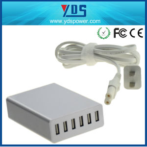 Ce FCC RoHS Approved High Quality 60W 6 USB Charger for USB Device pictures & photos