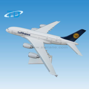 """Lufthansa"" 1: 200 37cm A380 ABS Airplane Model Product pictures & photos"