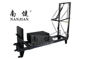 Nanjian Aluminium Pilates Reformer with Half Trapeze pictures & photos
