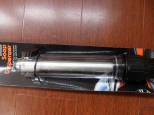 Water Flow Brush with Soap Dispensor pictures & photos