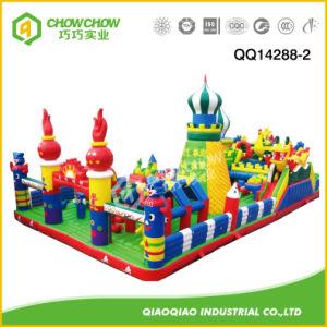 Childern Inflatable Toys Castle Slide Fun City for Amusement Park pictures & photos