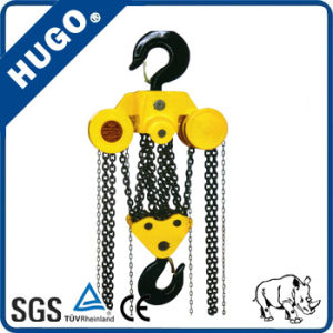 30t 3m Hand Chain Block Manual Hoist with Hook pictures & photos