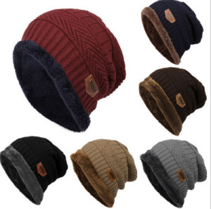 OEM Winter Warm Wool Outdoor Ski Unisex Hats pictures & photos