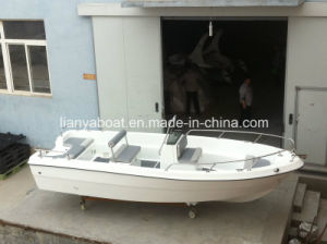 Liya 5.1m Fiberglass Panga Boats Small Work Boat for Sale pictures & photos