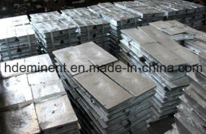 High Quality 99.99% Purity Zinc Ingots/ Zinc Alloy pictures & photos
