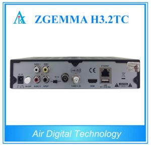 Multistream TV Decoder Zgemma H3.2tc DVB-S2+2X DVB-T2/C Digital TV Satellite Receiver pictures & photos