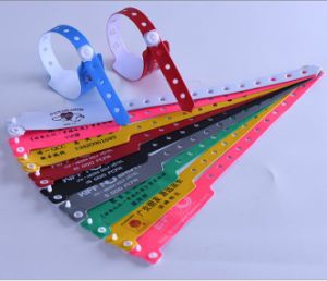Wrist Strap with Barcode Number pictures & photos