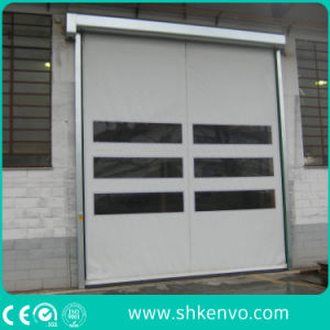 PVC Fabric Self Repairing High Speed Roller Shutter for Industrial Warehouses pictures & photos