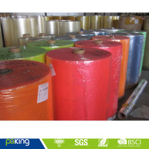 Color BOPP Adhesive Tape Jumbo Roll pictures & photos
