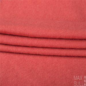 100%Wool Fabric for Winter in Light Orange