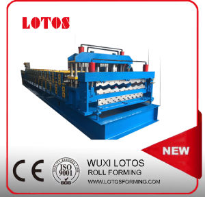 Roof Tile & Corrugated Wave Panel Roll Forming Machine pictures & photos