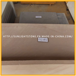 Moca Purple/Brown/Chocolate Sand Stone Slabs, Tiles for Building Materials pictures & photos