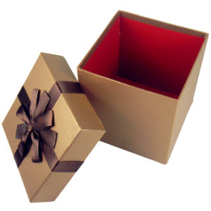 Custom Eco-Friendly Full Printed Cardboard Gift Boxes pictures & photos