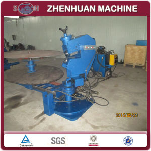 LPG PLC Control Oval Tank Head Shearing and Flanging Machine for Tank or Trailer pictures & photos