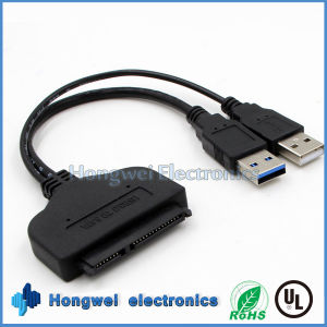 22 Pin USB 3.0 Turn SATA USB IDE SATA Cable for 2.5 Inch Computer Hard Disk pictures & photos
